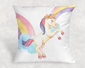 Almofada Personalizada para Festa Unicornio 19