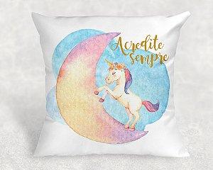 Almofada Personalizada para Festa Unicornio 25