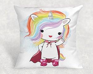 Almofada Personalizada para Festa Unicornio 29