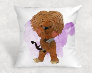 Almofada Personalizada para Festa Star Wars 11