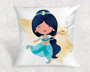 Almofada Personalizada para Festa Princesa Jasmine