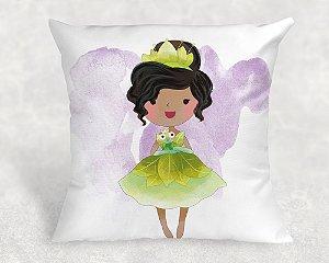 Almofada Personalizada para Festa Princesa Tiana
