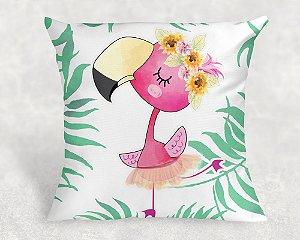 Almofada Personalizada para Festa Flamingo 11