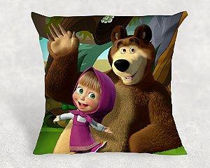Almofada Personalizada para Festa Masha e o Urso 3