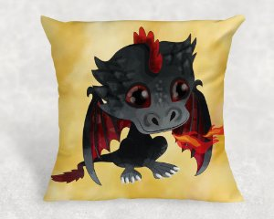 Almofada Personalizada para Festa Game Of Thrones  dragon