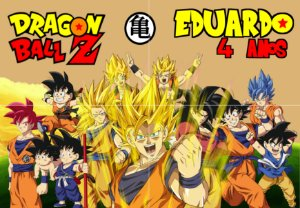 Painel personalizado Dragon Ball Z