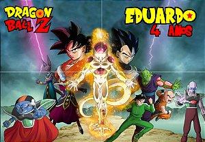 Painel personalizado Dragon Ball Z 2