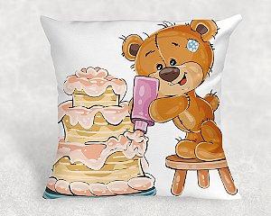 Almofada Personalizada para Festa Ursinho 16