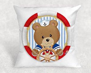 Almofada Personalizada para Festa Ursinho Marinheiro 37
