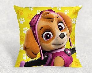 Almofada Personalizada para Festa Patrulha Canina Skye 3