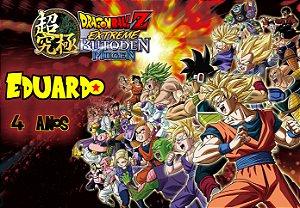 Painel em TNT Dragon Ball Z 3