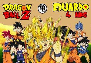 Painel em TNT Dragon Ball Z 1