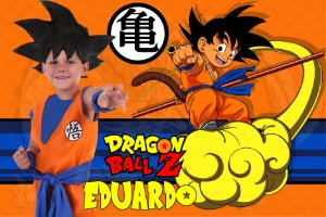 Painel TNT Dragon Ball Z com foto 2