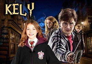 Painel TNT Harry Potter menina com foto