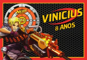Painel TNT Nerf