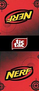 Adesivo personalizado para TicTac NERF