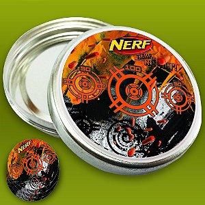 Embalagem com 20 adesivos NERF