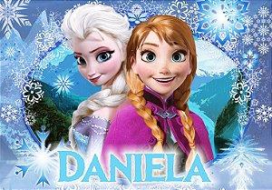 Painel TNT Frozen - Uma Aventura Congelante