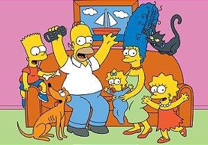 Painel TNT Simpsons