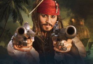 Painel TNT Piratas das Caraíbas