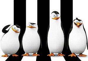 Painel TNT Pinguins de Madagascar