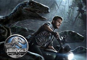 Painel TNT Jurassic World O Mundo dos Dinossauros