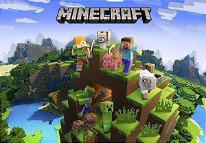 Painel TNT Minecraft
