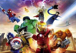 Painel TNT Lego Vingadores