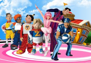 Painel TNT Lazy Town