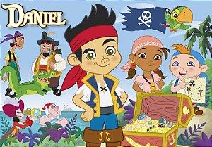 Painel TNT Jake e os Piratas Terra do Nunca
