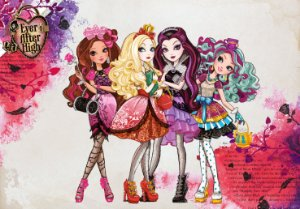 Painel TNT Ever After High