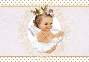 Painel TNT Anjinha Princesa