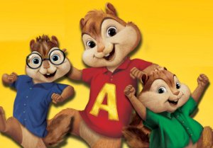 Painel TNT Alvin e os Esquilos