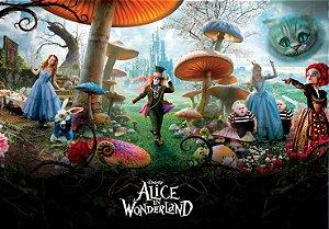 Painel TNT Alice no país das maravilhas 2
