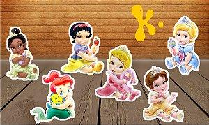 Totens de Mesa Princesas Bebes