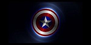 Adesivo para cofrinho personalizado Capitão América