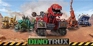 Adesivo para cofrinho personalizado Dinotrux