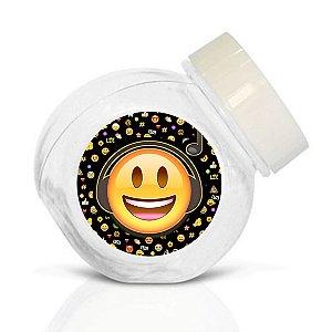 Embalagem com 40 adesivos baleirinho Emoji
