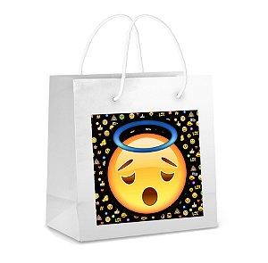 Adesivo para sacolinha perdonalizado Emoji