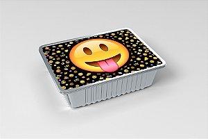 Tampa para marmitinha personalizada Emoji