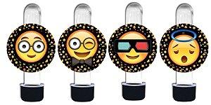 Adesivo para tubete Emoji
