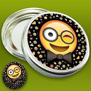 Embalagem com 20 adesivos Emoji