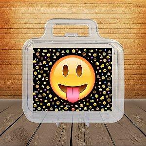 Adesivo Maletinha acrílica Emoji