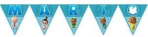Bandeirinha Personalizada Poderoso Chefinho