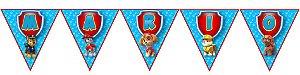 Bandeirinha Personalizada Patrulha Canina