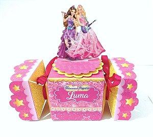 Caixa Bala Barbie pop star