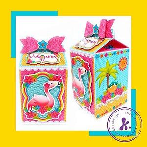 Caixa Milk Flamingo