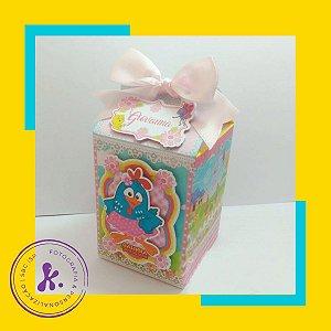 Caixa Milk Galinha Pintadinha Rosa