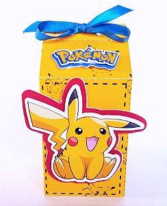Caixa Milk Pokemon Pikachu