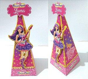 Caixa Cone Barbie pop star